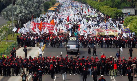 mayday indonesia