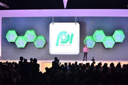 Presentasi tentang teknologi Pure Image yang hadir di OPPO N1