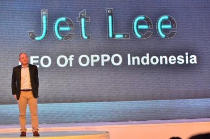 Sambutan dari CEO OPPO Indonesia Bapak Jet Lee