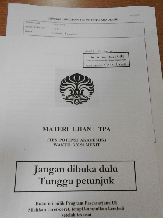 cover soal TPA Unhan